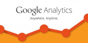 google analytics for web stats