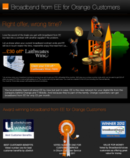Orange – Right Offer Wrong Time
