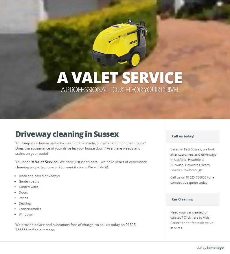 A Valet Service